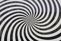 Hypnose er ikke forvirring, som spiralen kan antyde
