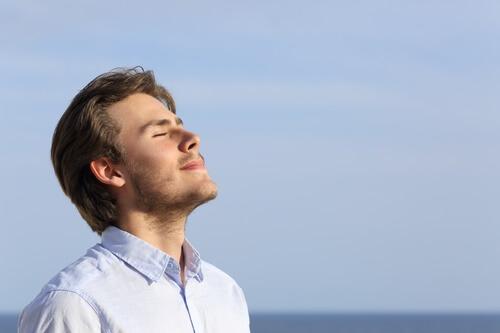 Du kan give slip ved hjælp af din vejrtrækning